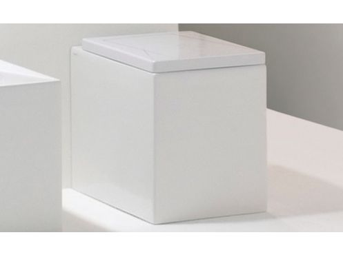 Cuvette WC Design, Box blanc
