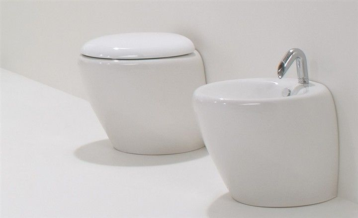 Meubles lave mains robinetteries wc cuvette design cuvette wc design touch blanc - Cuvette wc design ...