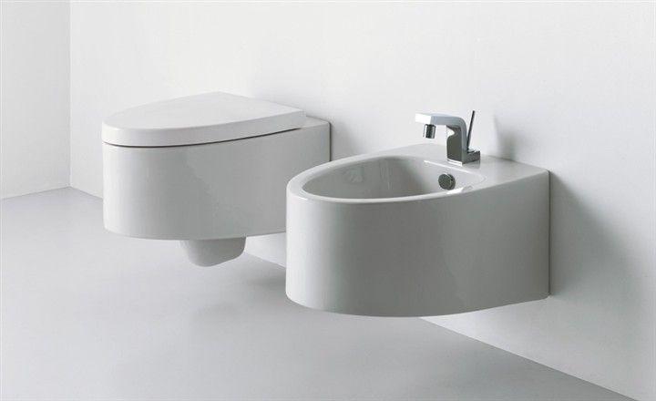 Cuvette Wc Suspendu Design Boing Blanc