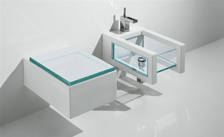 Meubles, Lave-Mains, Robinetteries Wc Cuvette Design - Cuvette Wc