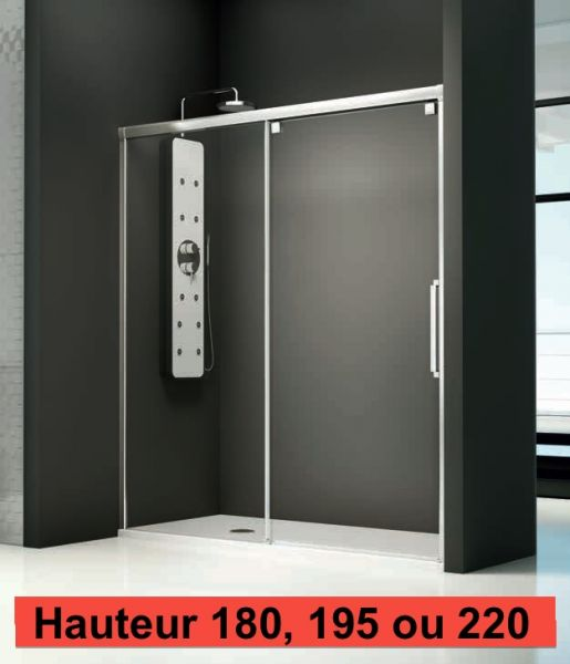 Produit coulommiers carrelage for Porte de douche 110 cm