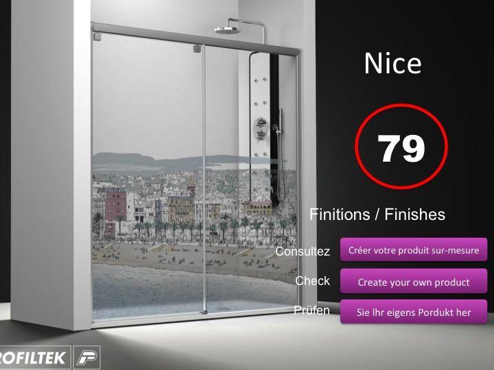paroi de douche longueur 115 porte de douche coulissante 115 cm fixation gauche hauteur de. Black Bedroom Furniture Sets. Home Design Ideas