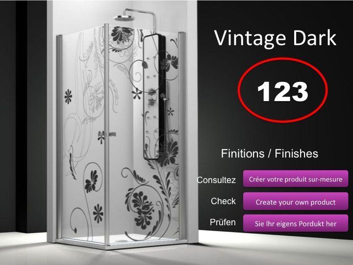 paroi de douche longueur 90 porte de douche acc s d 39 angle 90x90 cm d cor imagik nature. Black Bedroom Furniture Sets. Home Design Ideas
