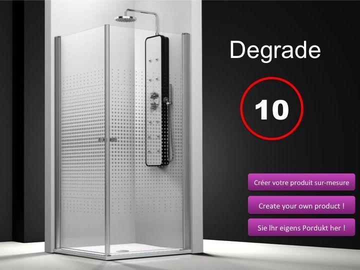 Paroi de douche longueur 90 porte de douche acc s d for Porte de douche 90x90