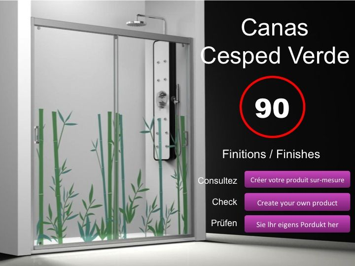 paroi de douche longueur 110 porte de douche 2 panneaux coulissants 110 cm d cor imagik. Black Bedroom Furniture Sets. Home Design Ideas