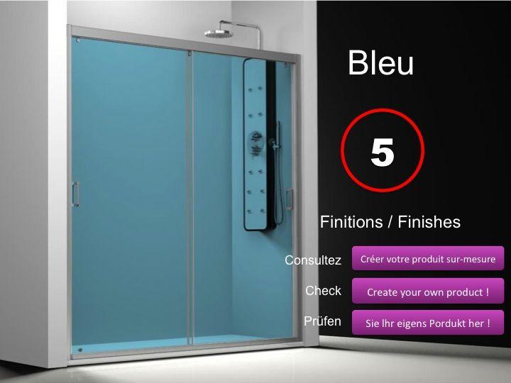 paroi de douche longueur 140 porte de douche 2 panneaux coulissants 140 cm d cor s rigraphie. Black Bedroom Furniture Sets. Home Design Ideas