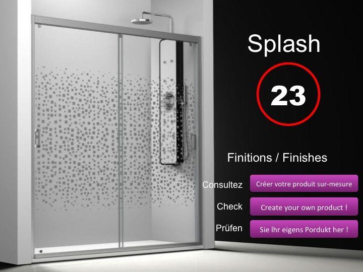 Paroi de douche longueur 150 porte de douche 2 panneaux - Porte de douche 180 cm ...