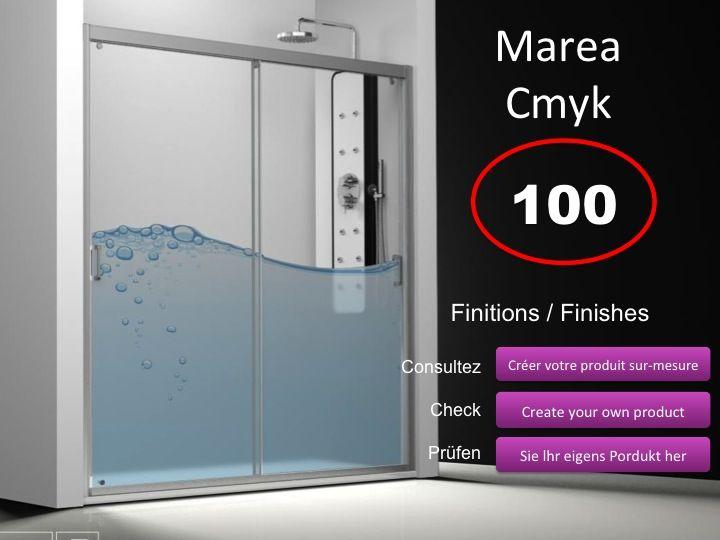 Paroi de douche longueur 175 porte de douche 2 panneaux for Porte de douche 180 cm