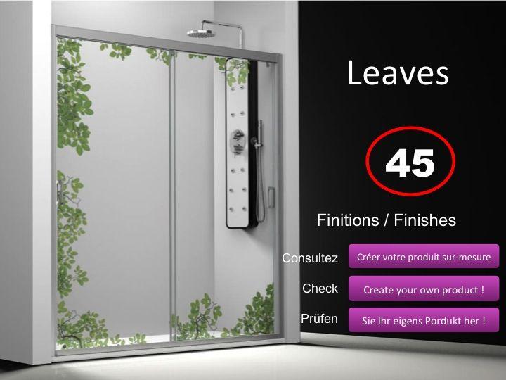 Paroi de douche longueur 175 porte de douche 2 panneaux for Porte de douche hauteur 180