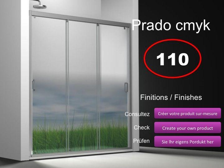 Paroi de douche longueur 110 porte de douche 3 panneaux for Porte de douche 110 cm