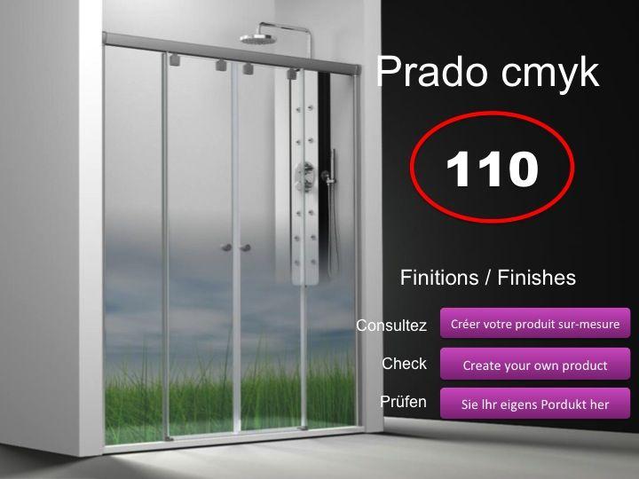 Paroi de douche longueur 120 paroi de douche 4 panneaux 2 portes centrales coulissantes 120 - Paroi douche 180 cm hauteur ...