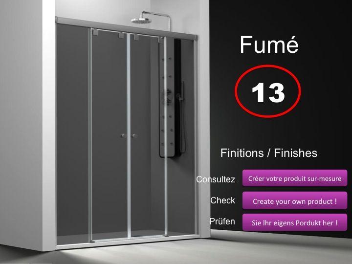 paroi de douche longueur 120 paroi de douche 4 panneaux. Black Bedroom Furniture Sets. Home Design Ideas