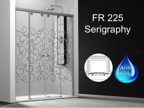 paroi de douche longueur 140 paroi de douche 4 panneaux. Black Bedroom Furniture Sets. Home Design Ideas