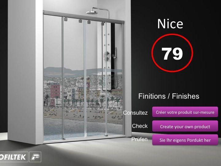 Paroi de douche longueur 150 paroi de douche 4 panneaux 2 portes centrales coulissantes 150 - Paroi douche 180 cm hauteur ...