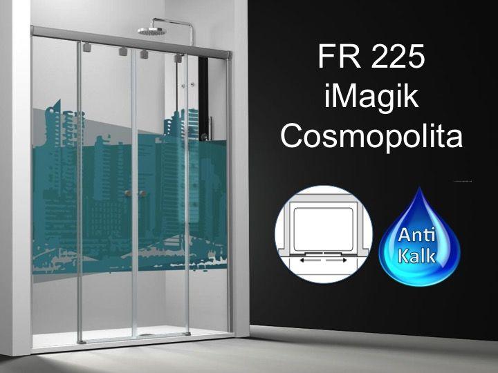 paroi de douche longueur 150 paroi de douche 4 panneaux 2 portes centrales coulissantes 150. Black Bedroom Furniture Sets. Home Design Ideas
