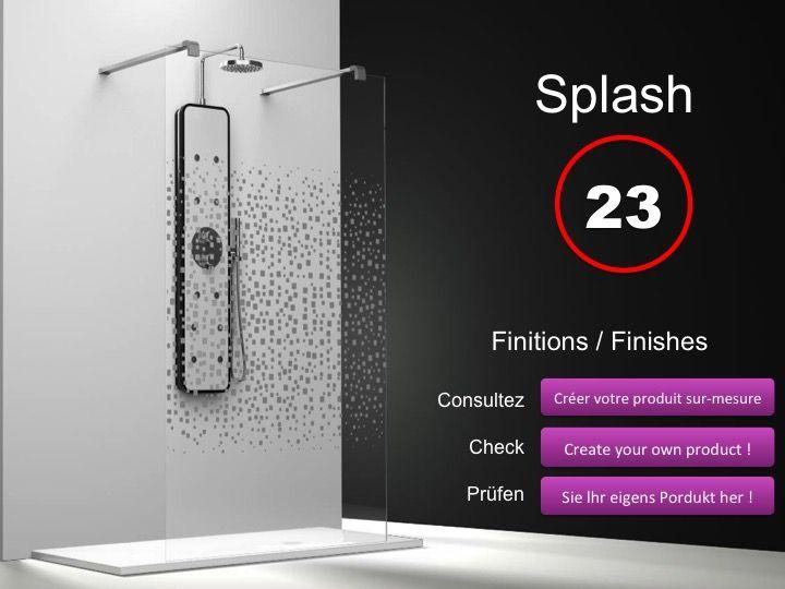 paroi de douche hauteur 150 cm