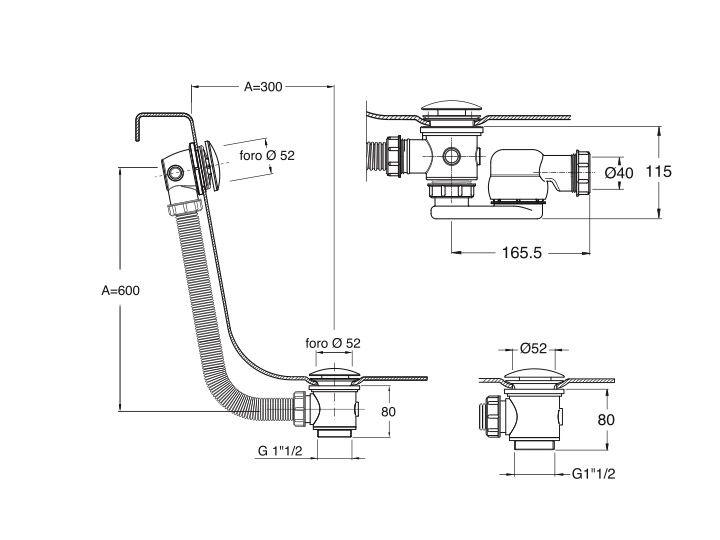 radiateur s che serviettes baignoires vidage baignoire up down sans cable. Black Bedroom Furniture Sets. Home Design Ideas