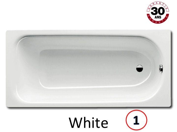 radiateur s che serviettes baignoires baignoire 160 x 75 cm en acier maill kaldewei. Black Bedroom Furniture Sets. Home Design Ideas