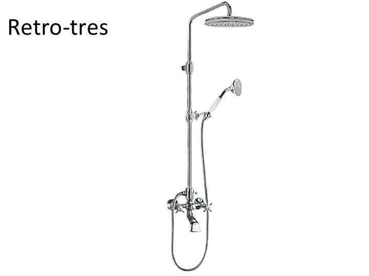 Meubles lave mains robinetteries colonne douche for Bain et douche ensemble