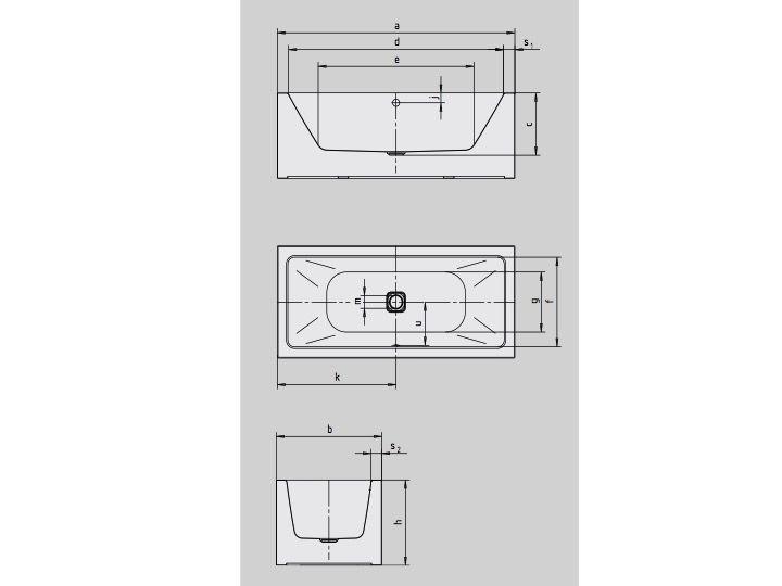 radiateur s che serviettes baignoires baignoire 180 x 80 cm ilot en acier maill kaldewei. Black Bedroom Furniture Sets. Home Design Ideas