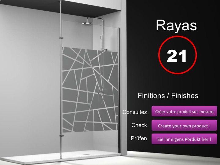 paroi de douche longueur 50 paroi de douche fixe 50 cm avec barre stabilisatrice du sol au. Black Bedroom Furniture Sets. Home Design Ideas