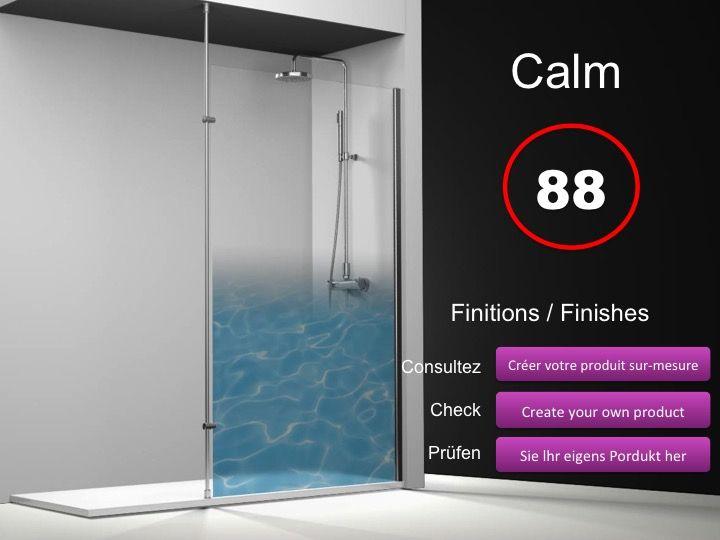 paroi de douche longueur 70 paroi de douche fixe 70 cm avec barre stabilisatrice du sol au. Black Bedroom Furniture Sets. Home Design Ideas