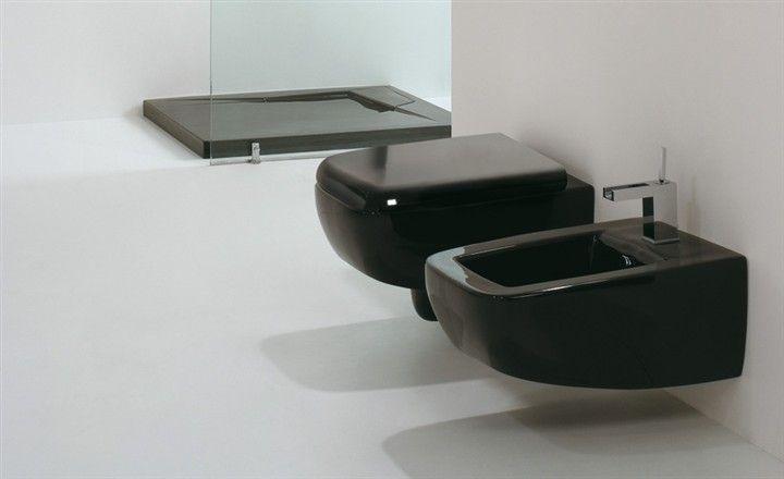 meubles lave mains robinetteries wc cuvette design cuvette wc design lilac noir. Black Bedroom Furniture Sets. Home Design Ideas