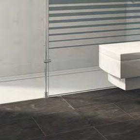 paroi de douche longueur 105 paroi de douche fixe 105 cm avec barre stabilisatrice du sol au. Black Bedroom Furniture Sets. Home Design Ideas