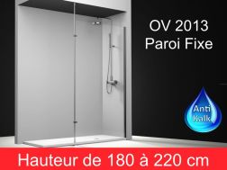 paroi de douche largeur 160 cm 160x180 160x185 160x190 160x195 160x200 160x205 160x210. Black Bedroom Furniture Sets. Home Design Ideas