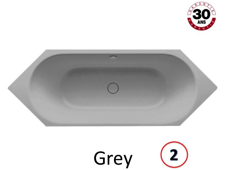 radiateur s che serviettes baignoires baignoire 200 x 75 cm en acier maill kaldewei. Black Bedroom Furniture Sets. Home Design Ideas
