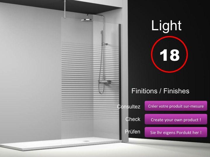 paroi de douche longueur 60 paroi de douche fixe 60 cm avec barre stabilisatrice au plafond. Black Bedroom Furniture Sets. Home Design Ideas