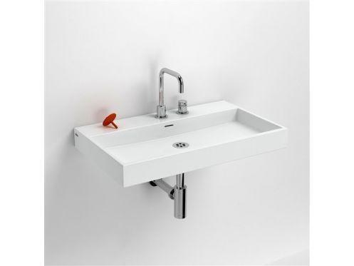 Vasques accessoires lavabo 70 cm washme c ramique blanc - Point p robinetterie ...
