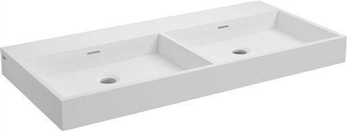 Meubles lave mains robinetteries corian type lavabo for Largeur lavabo standard