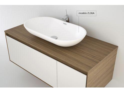 vasques corian type vasque poser 25x45 cm en r sine solid surface zl06a blanc. Black Bedroom Furniture Sets. Home Design Ideas