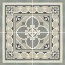 Carrelage sol et mur c ciment imitation paris 1er corner 20x20 carrelage - Carreaux de ciment gres cerame ...