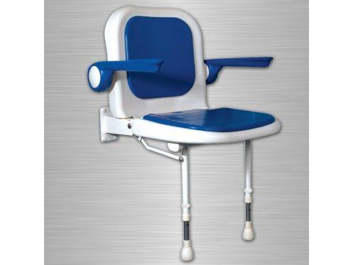 radiateur s che serviettes pmr accessoires si ge douche rembourr pmr avec dossier et. Black Bedroom Furniture Sets. Home Design Ideas