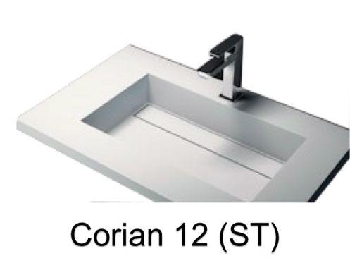 vasques largeur 140 vasque lavoir type corian 140 x 50. Black Bedroom Furniture Sets. Home Design Ideas
