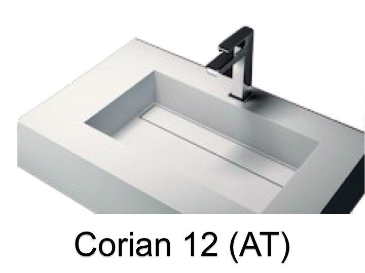 vasques largeur 180 vasque lavoir type corian 180 x 50 cm en r sine solid surface zl12 blanc. Black Bedroom Furniture Sets. Home Design Ideas