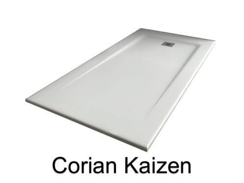 receveurs de douches longueur 140 receveur de douche type corian 140 cm en r sine solid. Black Bedroom Furniture Sets. Home Design Ideas