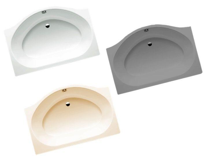 radiateur s che serviettes baignoires baignoire 150 x1 00 cm en acier maill kaldewei. Black Bedroom Furniture Sets. Home Design Ideas