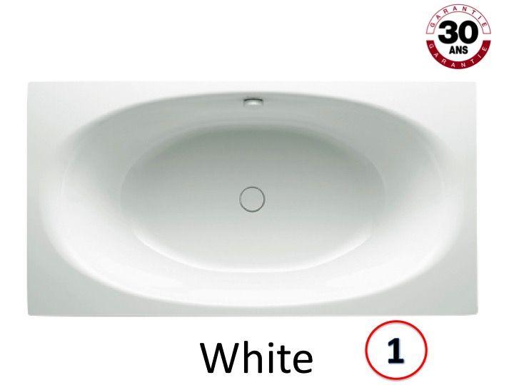 radiateur s che serviettes baignoires baignoire 190 x 100 cm en acier maill kaldewei. Black Bedroom Furniture Sets. Home Design Ideas