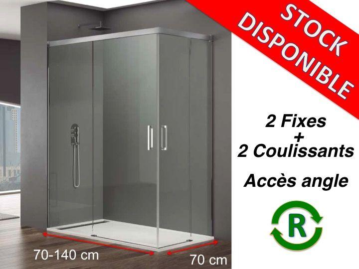 Paroi de douche livraison express largeur 70 longueur - Porte de douche 70 cm ...