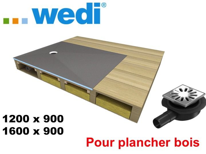 receveurs de douches a carreler wedi receveur pour plancher bois wedi fundo ligno receveur. Black Bedroom Furniture Sets. Home Design Ideas
