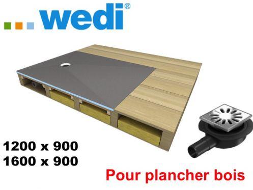 Receveurs De Douches A Carreler Wedi Receveur Pour Plancher Bois Wedi Fundo Ligno Receveur