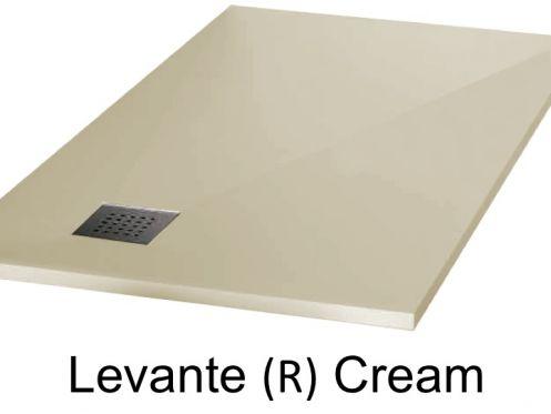 receveurs de douches longueur 150 receveur de douche 150 cm en r sine vacuation en angle. Black Bedroom Furniture Sets. Home Design Ideas