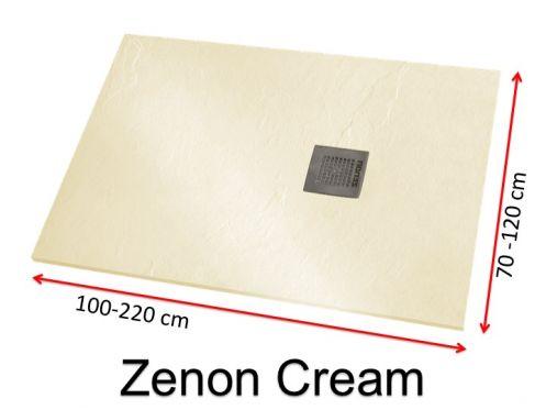 receveurs de douches longueur 220 receveur de douche en r sine sur mesure 220 cm petit. Black Bedroom Furniture Sets. Home Design Ideas
