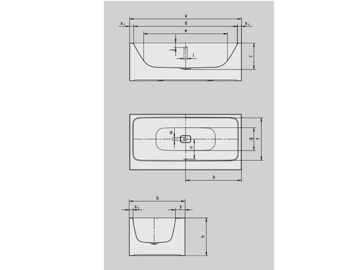 Baignoires baignoires baignoire 170 x 80 cm en acier maill kaldewei ava - Refaire email baignoire ...