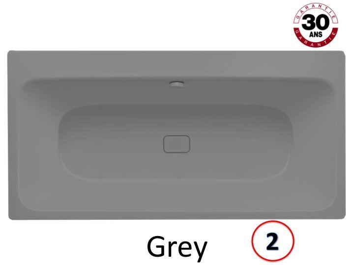 baignoires longueur 170 baignoire 170 x 80 cm en acier. Black Bedroom Furniture Sets. Home Design Ideas