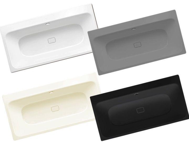 radiateur s che serviettes baignoires baignoire 170 x 80 cm en acier maill kaldewei. Black Bedroom Furniture Sets. Home Design Ideas
