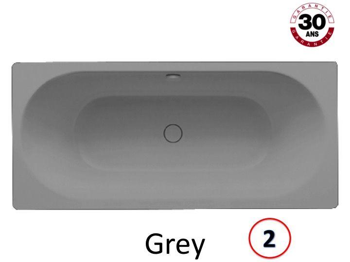 Baignoires longueur 170 baignoire 170 x 75 cm en acier maill kaldewei a - Email de baignoire abime ...